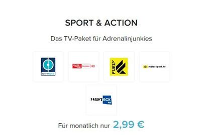 Sport & Action Abo Preise Magine-TV